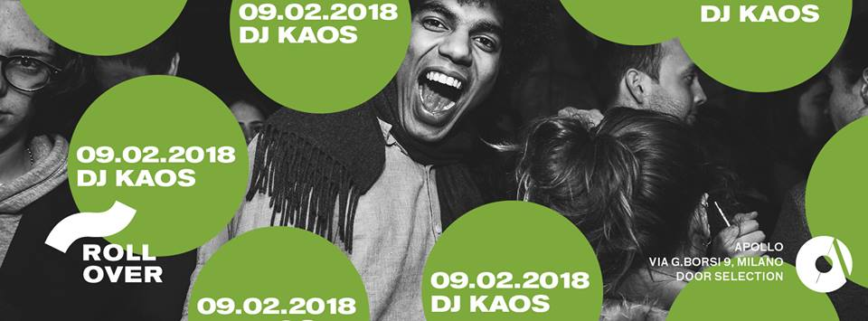 """9TH FEBRUARY 2018 ROLLOVER WITH DJ KAOS"""