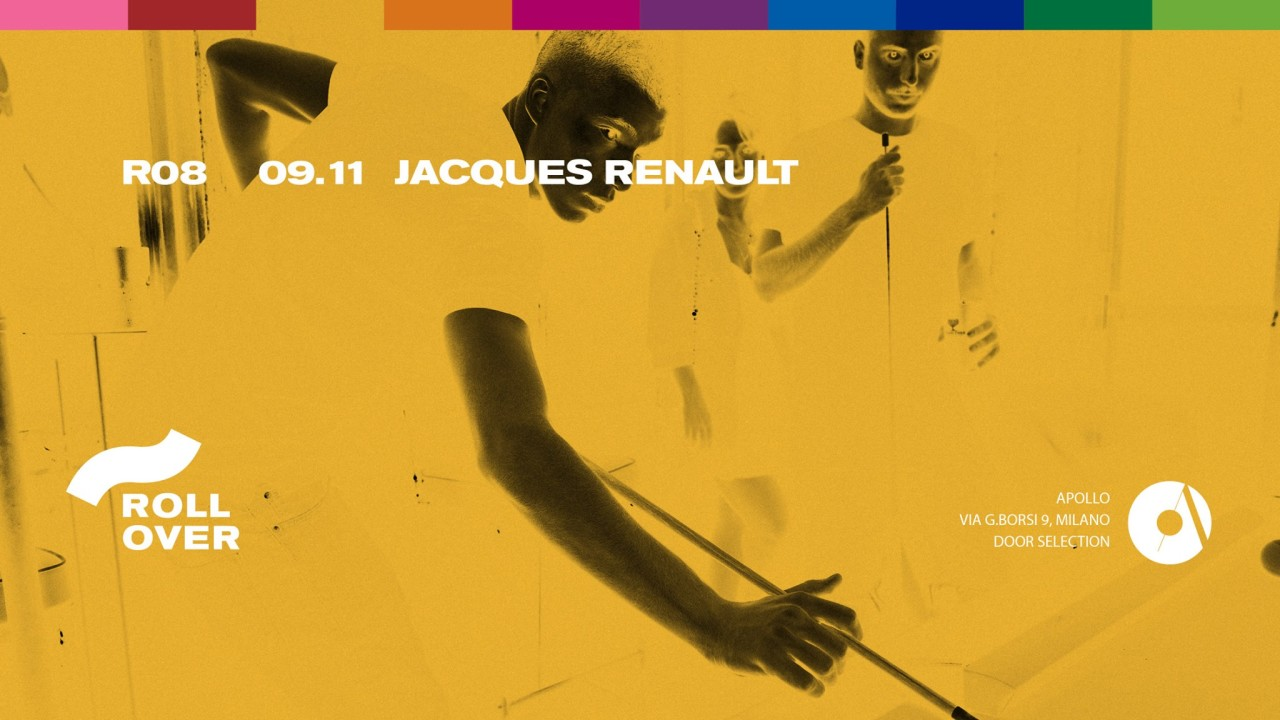 """""""09.11.2018 ROLLOVER W/ JACQUES RENAULT"""