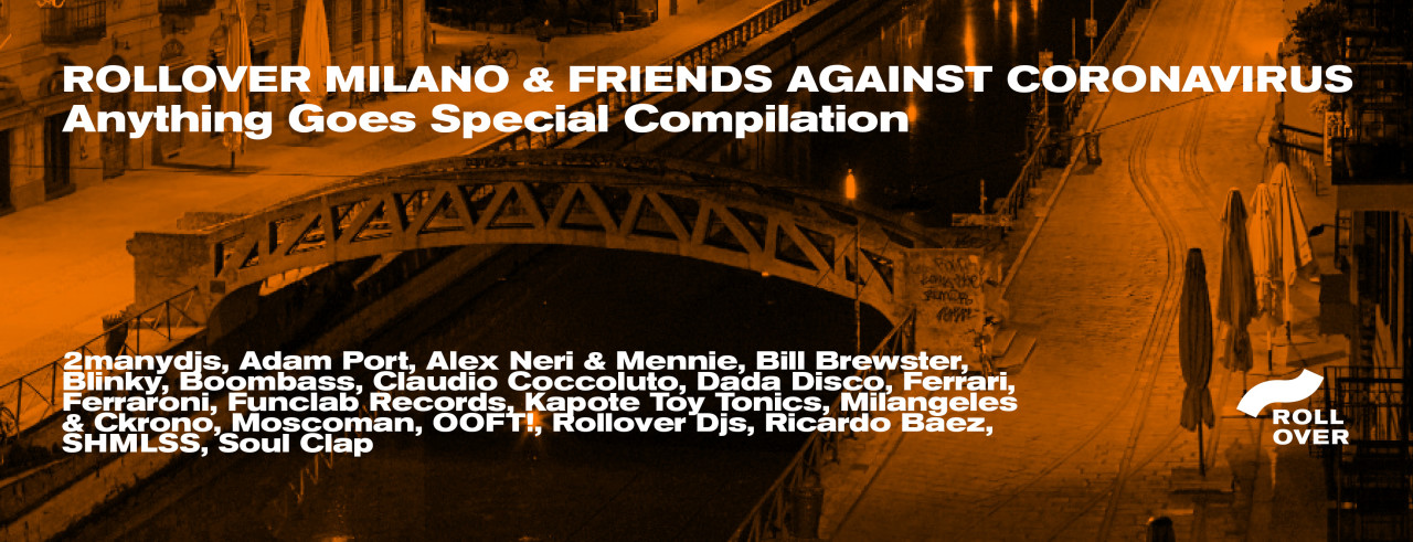 """Rollover Milano & Friends against CoronaVirus"""