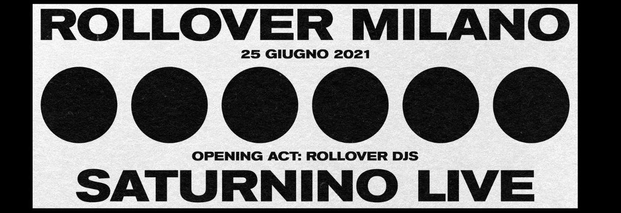 Rollover w/ Saturnino Live
